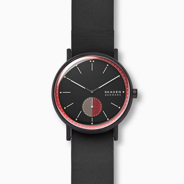 Skagen Signatur Black Analogue Watch - Duffs Jewellers