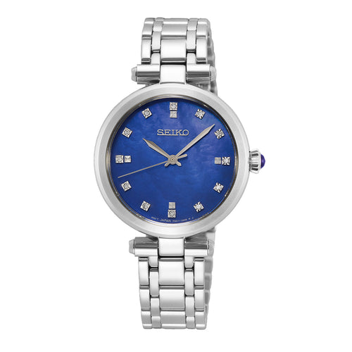 Seiko Ladies Diamond Set Dress Watch - Duffs Jewellers