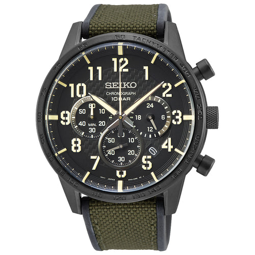 Seiko Gents Chronograph Watch - Duffs Jewellers