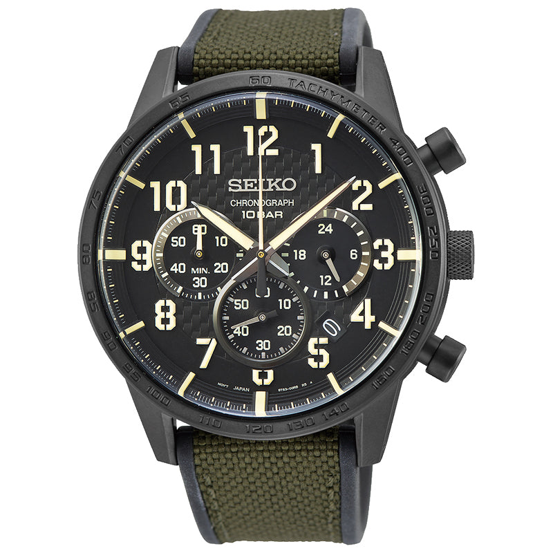 Seiko Gents Chronograph Watch