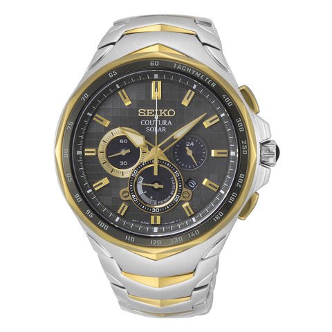Gents Coutura Solar Chronograph Dress Watch