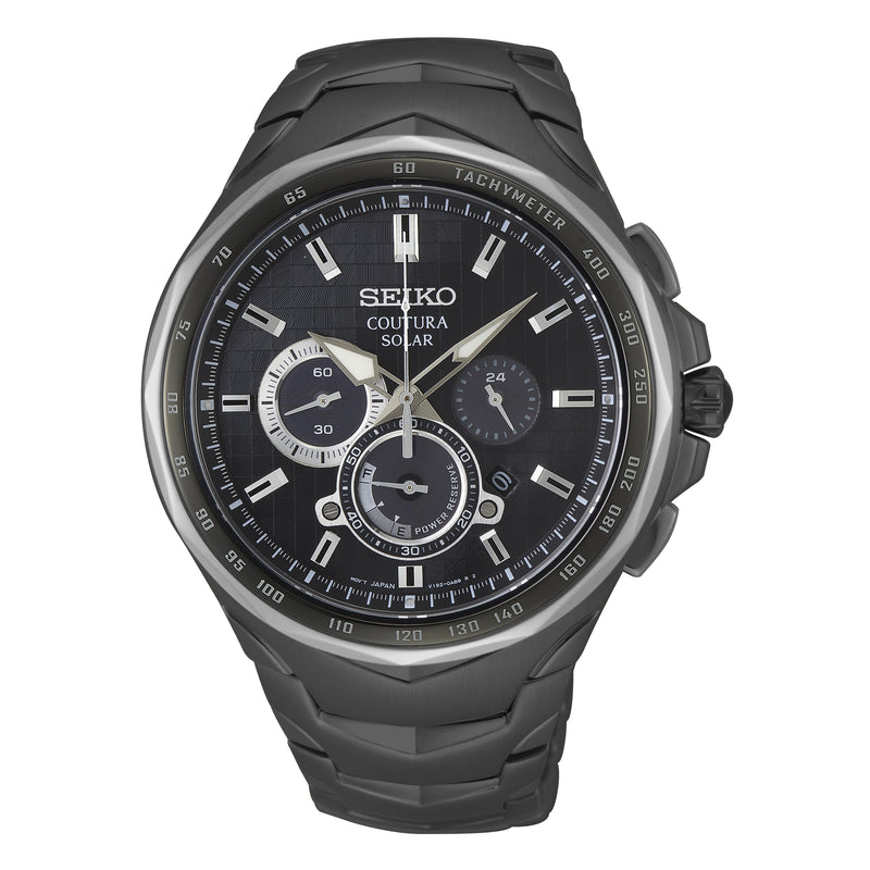 Gents Coutura Solar Chronograph Dress Watch - Duffs Jewellers