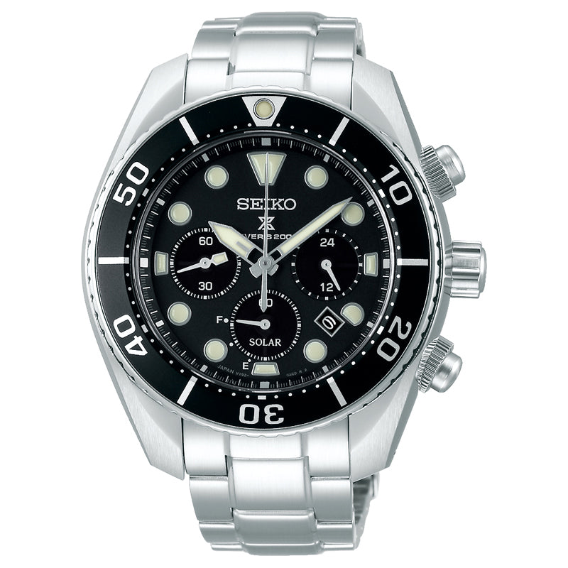 Gents Prospex Solar Chronograph Divers Watch - Duffs Jewellers