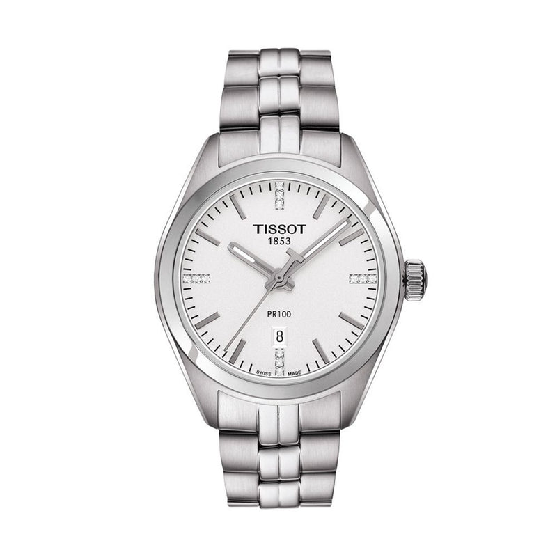 Tissot PR 100 Lady - With Diamonds - Duffs Jewellers