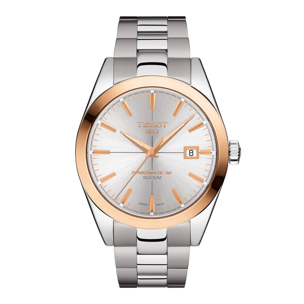 Tissot Gentleman Powermatic 80 Silicium 18K Gold - Duffs Jewellers