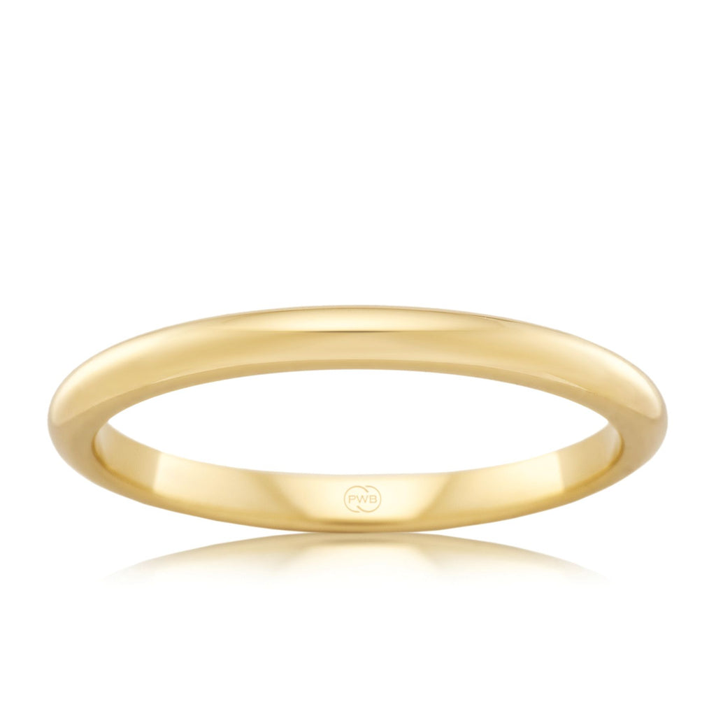 18ct Yellow Gold 2.5mm Wedding Ring - Duffs Jewellers