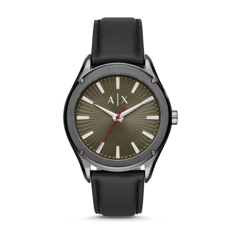 Armani Exchange Black Analogue Watch