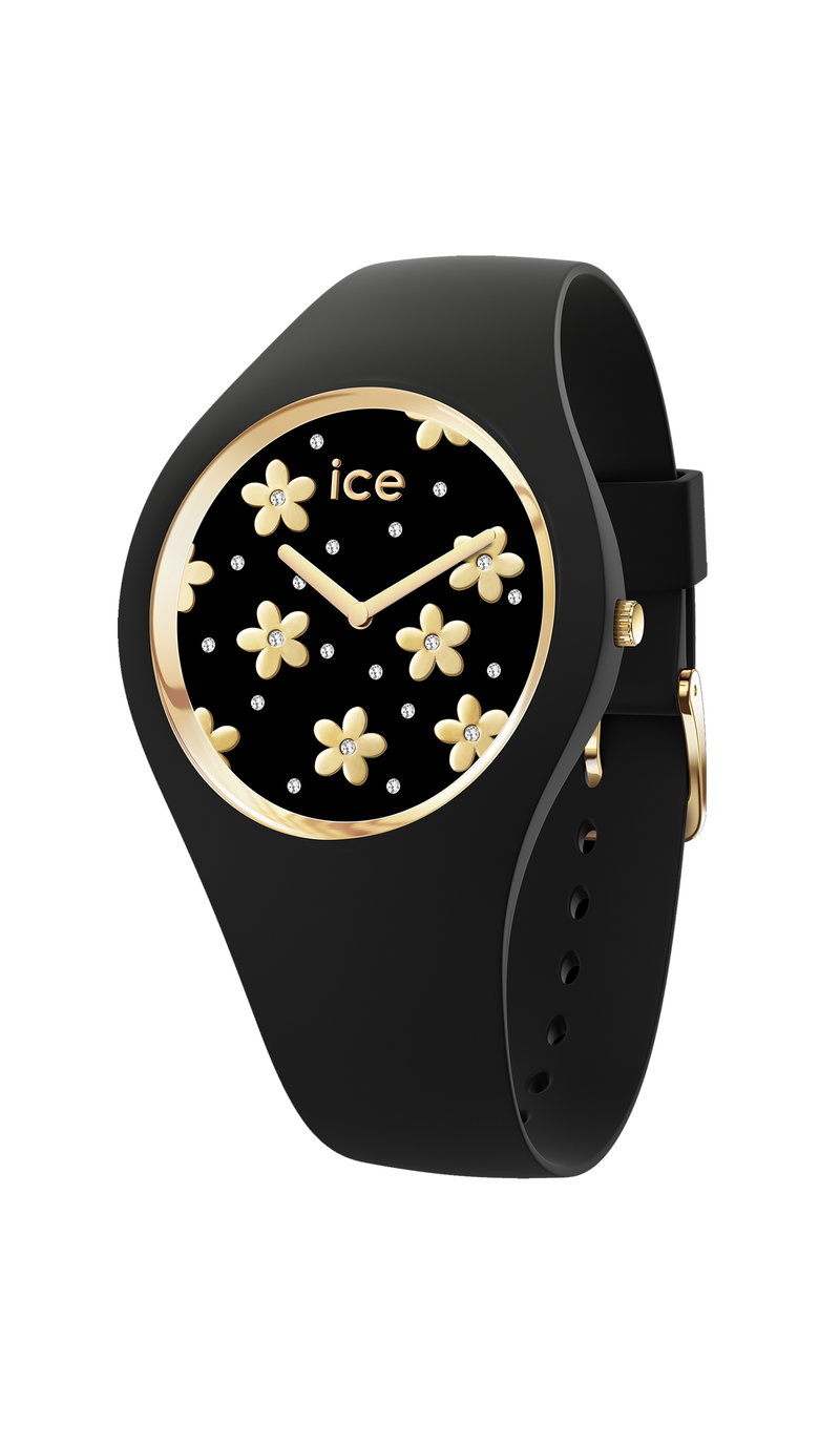 ICE flower - Precious black - Small