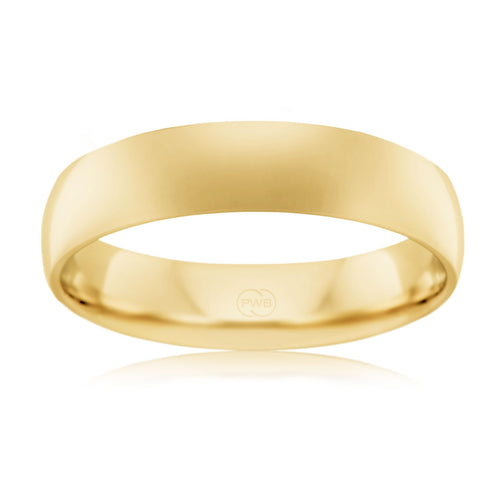 9ct Yellow Gold 5mm Wedding Ring - Duffs Jewellers