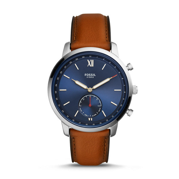 Fossil Neutra Hybrid Brown Smartwatch - Duffs Jewellers