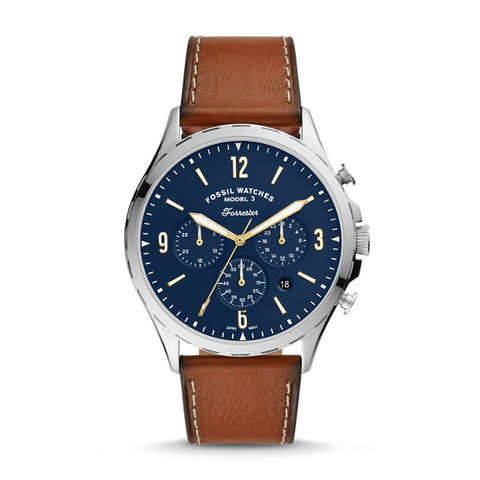 Fossil Forrester Brown Chronograph Watch