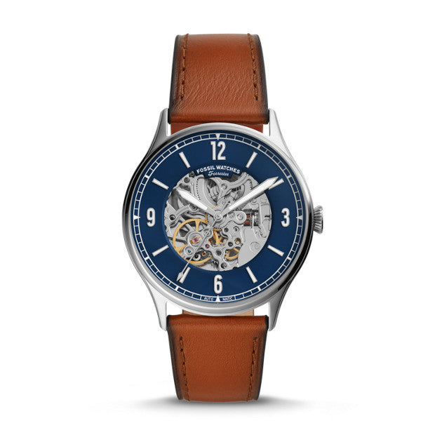 Fossil Forrester Brown Analogue Watch - Duffs Jewellers
