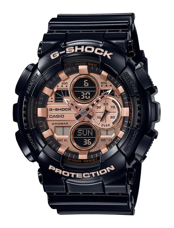 GSHOCK DUO CHRONO GA140GB-1A2