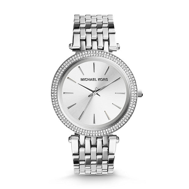 Michael Kors Darci Two Tone Analogue Watch - Duffs Jewellers