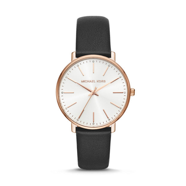 Michael Kors Pyper Black Analogue Watch - Duffs Jewellers
