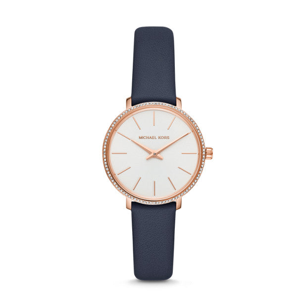 Michael Kors Pyper Blue Analogue Watch - Duffs Jewellers