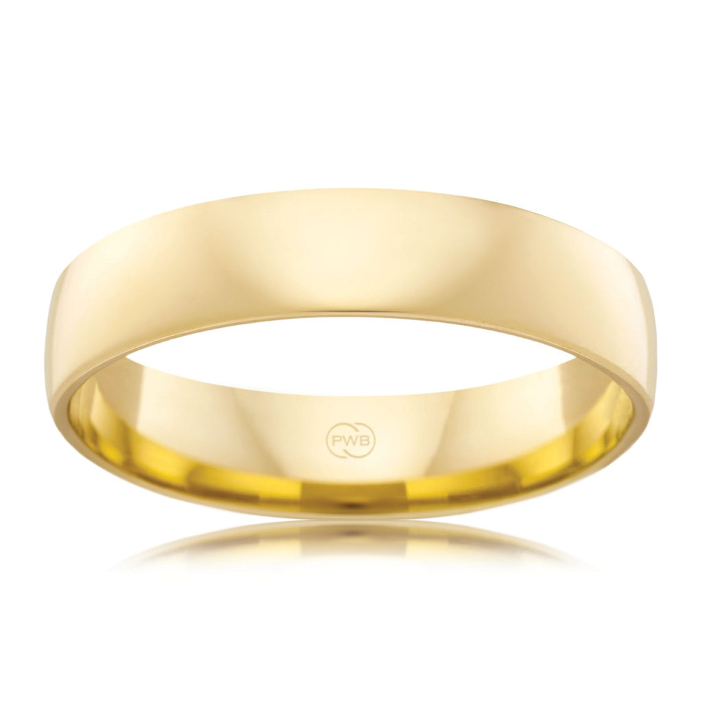 9ct Yellow Gold 5.5mm Wedding Ring - Duffs Jewellers