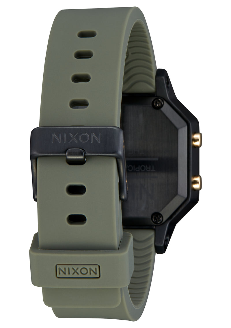 NIXON Siren Stainless Steel | Black/Fatigue - Duffs Jewellers