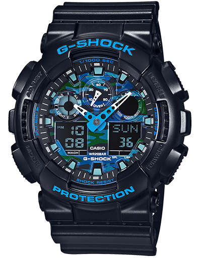 G-SHOCK DUO CHRONO GA100CB-1A
