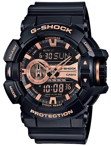 G-SHOCK DUO CHRONO GA400GB-1A4