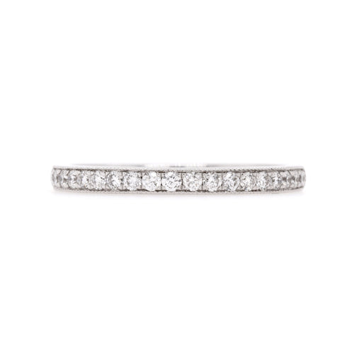 18ct White Gold Diamond Wedding Ring TDW = 0.29ct - Duffs Jewellers