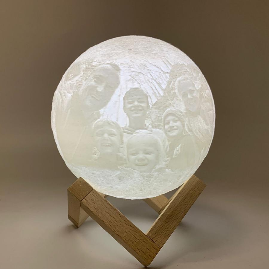 Magic 3D Printing Lunar Lamp