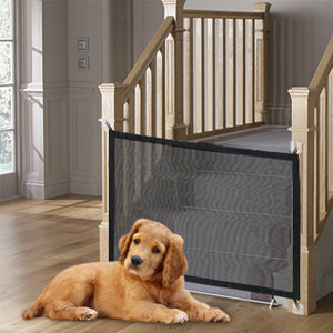 Retractable Kids & Pets Safety Guard Net