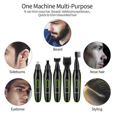 5 in 1 Electric Hair Trimmer