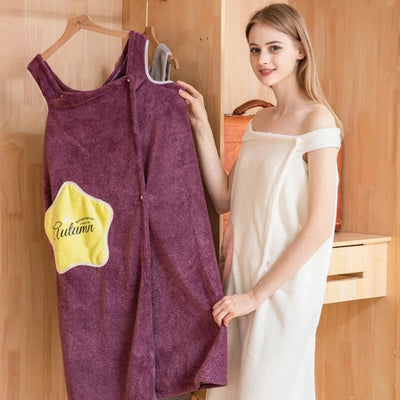 Soft Wearable Bath Towel
