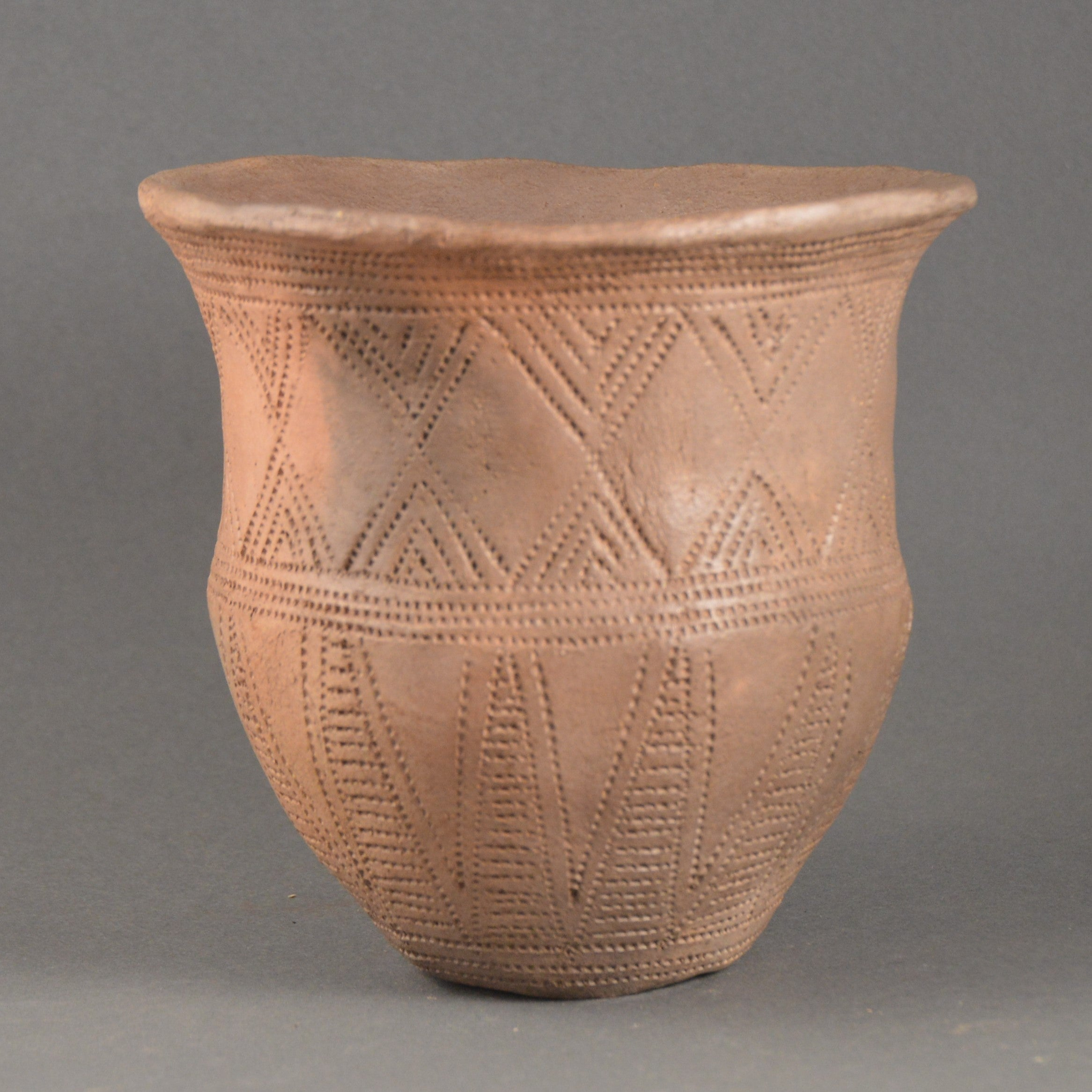 Bronze Age Beaker, Comb Decorated