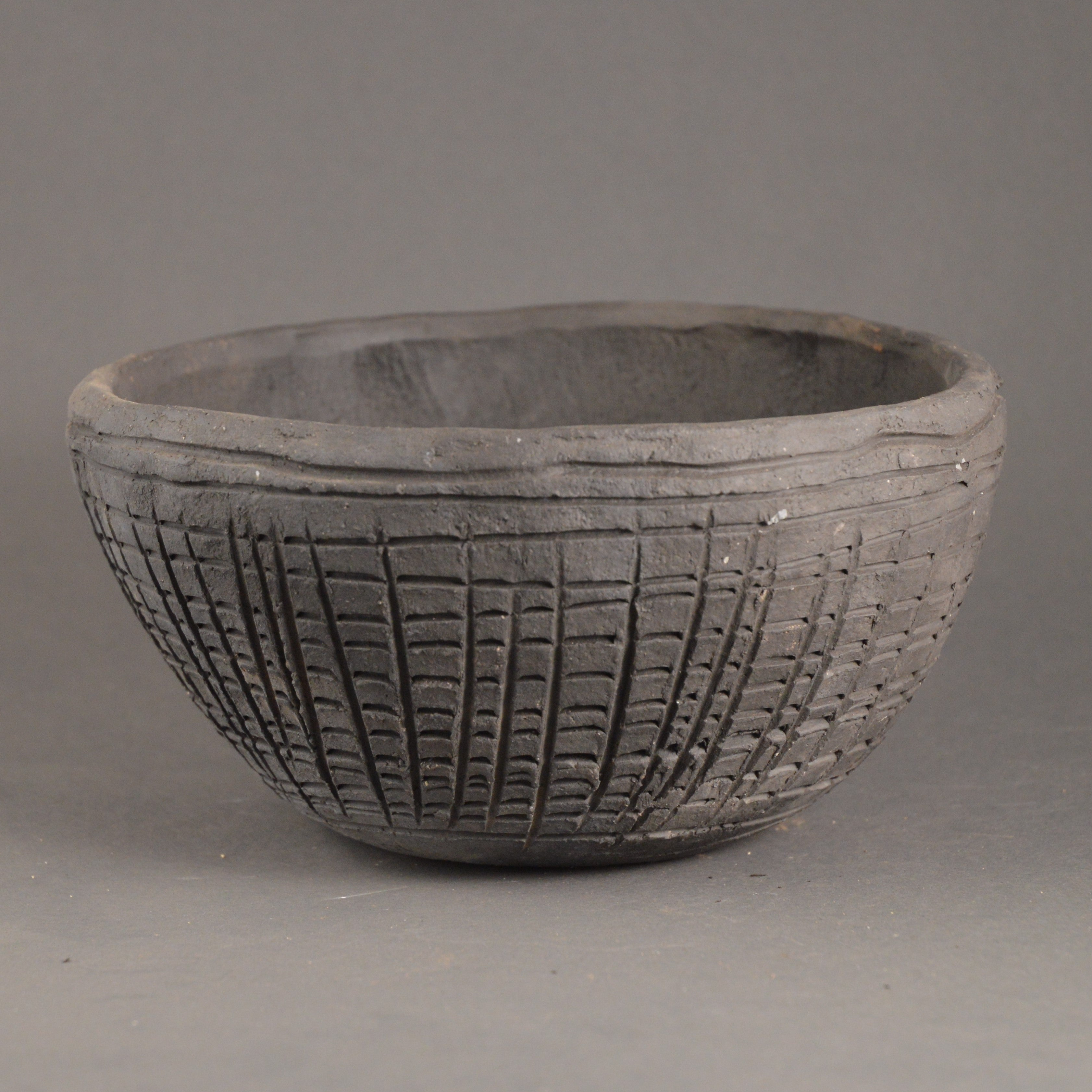 Boyne Valley Grooved Ware Bowl