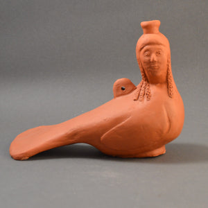 Greek Perfume Bottle, Siren