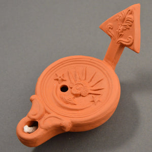 Roman Oil Lamp Sol Invictus