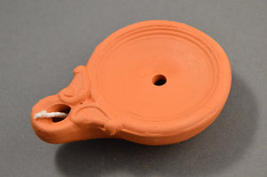 Roman Oil Lamp Discus
