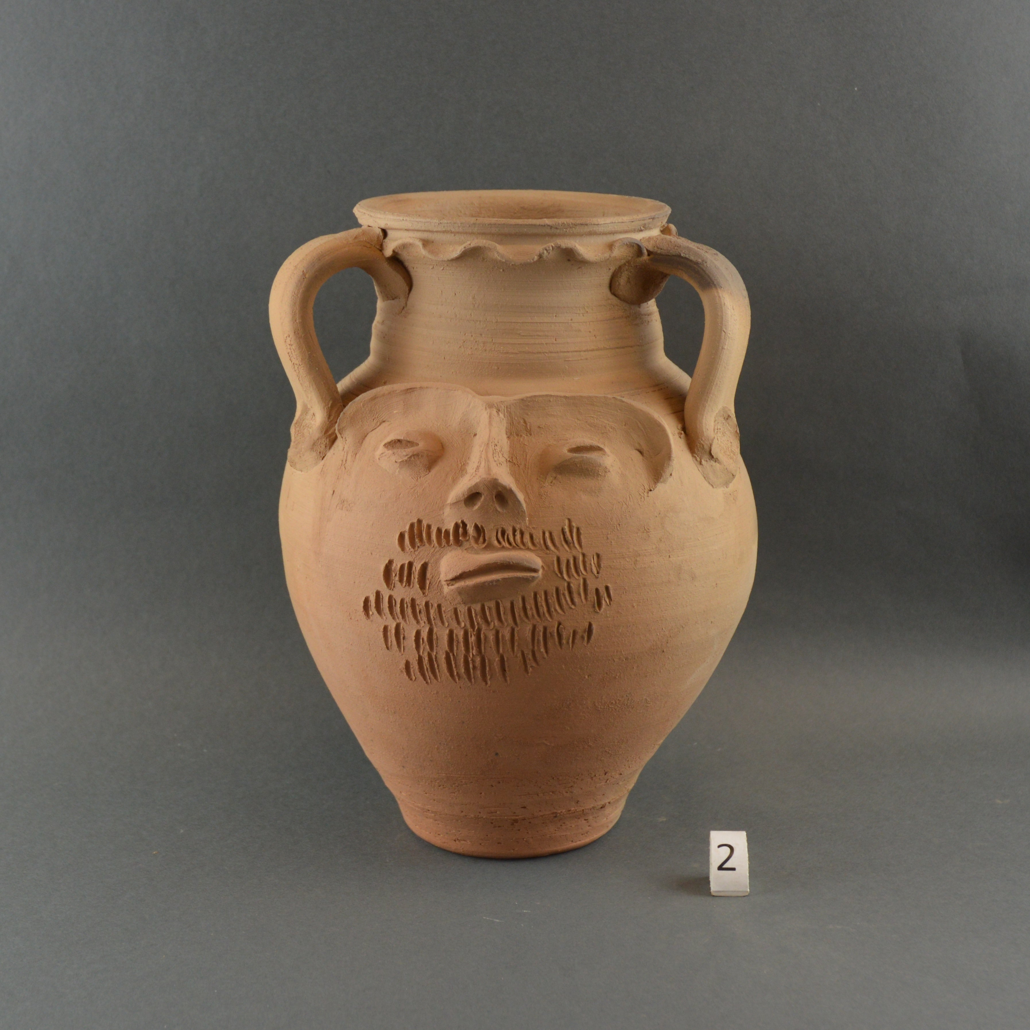 Vindolanda Head Pot 002A