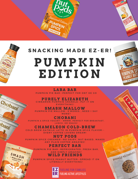 Snack Made EZ-ER Guide: Pumpkin Edition