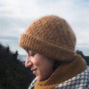 Naima Hat Kits - a new Northiam DK and Hythe kid silk design