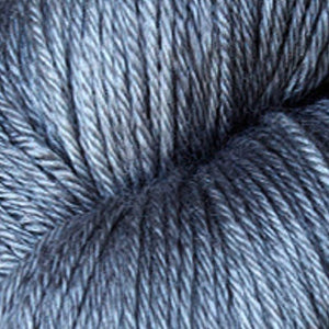 ISLINGTON - sw BFL / Silk fingering ...'Old Smoke' dark grey by Kettle Yarn Co.