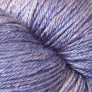 ISLINGTON - sw BFL / Silk fingering ...'Prunella' purple by Kettle Yarn Co.