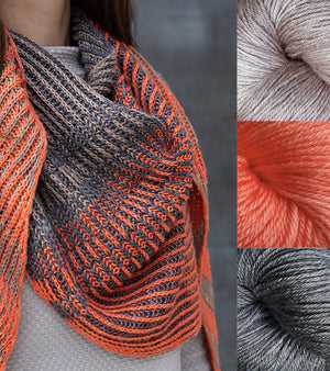 PERSIMMON PERSPECTIVE yarn kit - four combos!