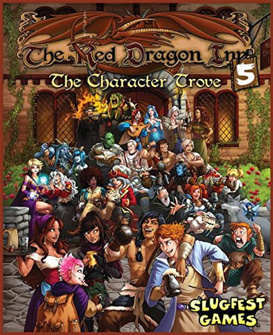 Red Dragon Inn 5: The Character Trove