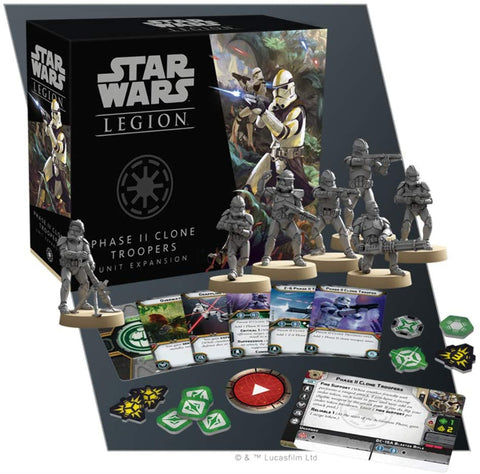 Star Wars: Phase II Clone Troopers Unit Expansion