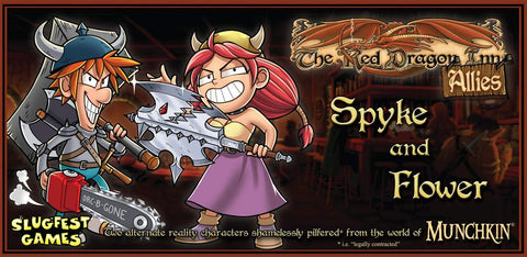 Red Dragon Inn Allies: Spike & Flower