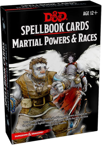 Spellbook Cards: Martial Powers & Races (D&D 5E)