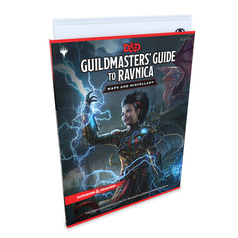 Dungeons & Dragons: Guildmaster's Guide to Ravnica Maps and Miscellany