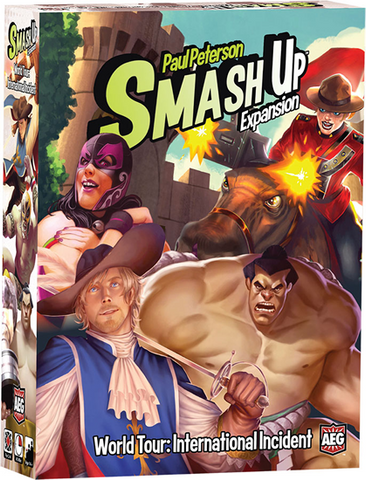 Smash Up World Tour: International Incident