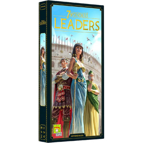 7 Wonders: Leaders Expansion (New Edition)