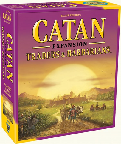 Catan: Traders & Barbarians Expansion 5th Edition