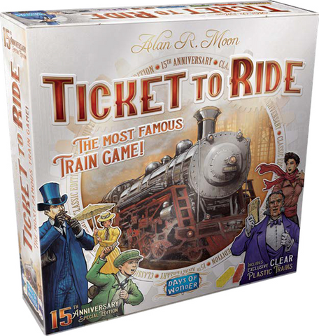 Ticket To Ride: 15th Anniversary Edition