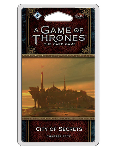 A Game of Thrones LCG (2nd Edition): City of Secrets Chapter Pack